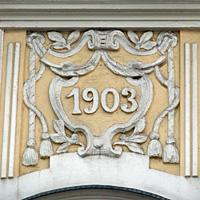 historische Hausnummer