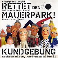 Aufruf zu Mauerpark-Demo am 23.08.2012