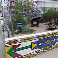 """""""Töne des Dschungels"""", Spielplatz Kopenhagener/Ecke Rhinower"""