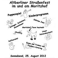 Straßenfest Flyer