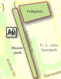 Grafik Grillplatz am Falkplatz