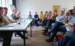 Anwohnerversammlung Grillen, Bild 1