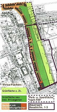 Mauerpark Plan Juli09, Grafik klein