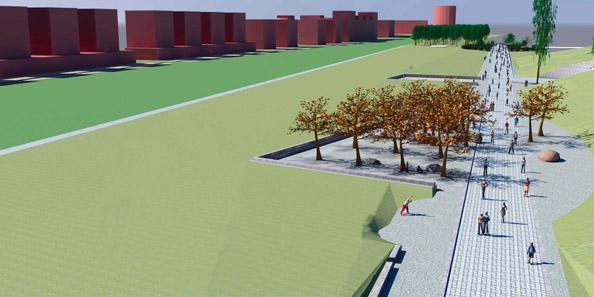 3D-Simulation, Mauerparkpläne 2009