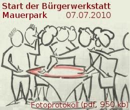 Link zum Fotoprotokoll der Bürgerwerkstatt Mauerpark 7.7.10
