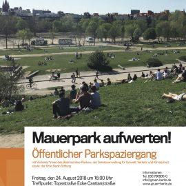 Neugestaltung Mauerpark und Jahnsportpark