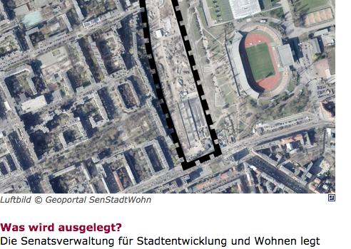 Bebauungsplan 3 – 64 – Mauerpark