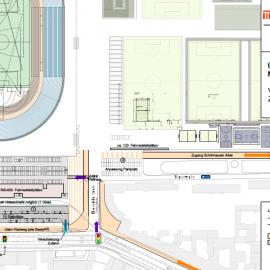 Gut-Achten – Verkehrserschließung neues Jahnstadion