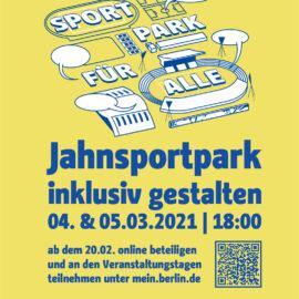 Bürgerbeteiligung Jahn-Sport-Park – JETZT