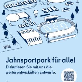 Öffentliche Werkstatt Jahnsportpark 09.09.2021